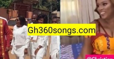 First photos and videos from Joe Mettle and Selasie's traditional wedding